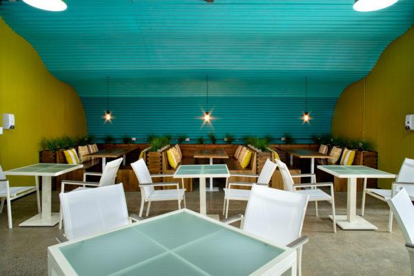 employee seating area design