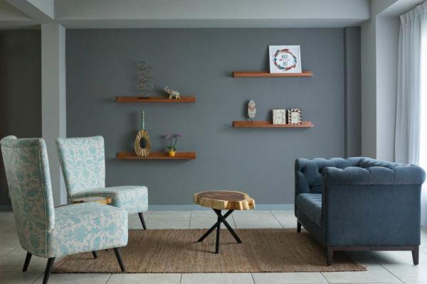 residential living room design in santa ana